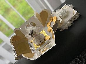 Nezaradené - Explosion gift box/Darčeková krabička - 1. sv. prijímanie - 12218445_