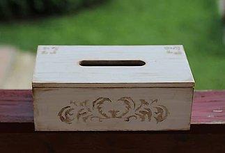 Krabičky - Krabička na obrúsky - 12222407_