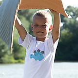 Detské oblečenie - tričko DINO - TYRKYSOVÝ -  STEGOSAURUS (dlhý/krátky rukáv) - 12221568_