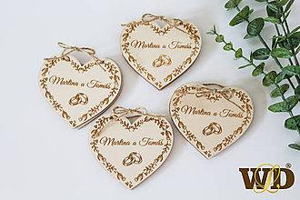 Papiernictvo - Drevené svadobné oznámenie - 12222730_