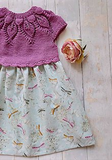 "Detské oblečenie - Šaty ""Na krídlach vážky"" - 12222388_"