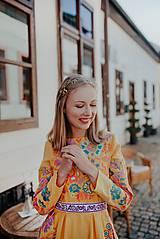 Šaty - žlté madeirové šaty Poľana - 12222222_