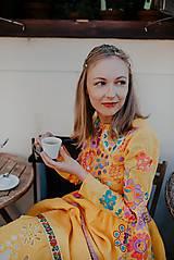 Šaty - žlté madeirové šaty Poľana - 12222227_