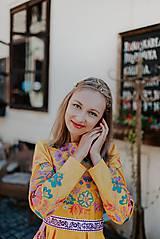Šaty - žlté madeirové šaty Poľana - 12222229_