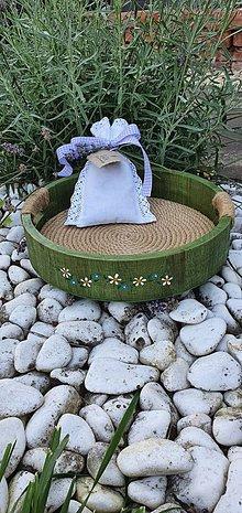Nádoby - Tácka - zelená záhrada - 12222037_