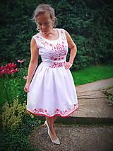 Šaty - Ručne maľované šaty - 12221467_