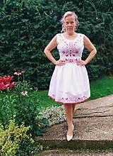 Šaty - Ručne maľované šaty - 12221470_