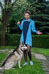 Šaty - Teplákové mini šaty Apex - 12221838_