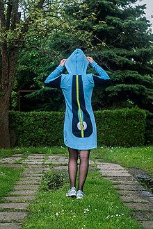 Šaty - Teplákové mini šaty Apex - 12221839_