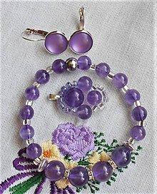 Sady šperkov - Levanduľkové láskanie - 12223997_