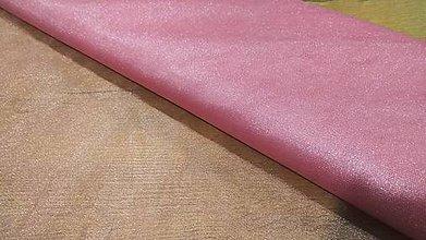 Textil - Tyl s leskom -stredná hrúbka - ružovofialova - 12223173_