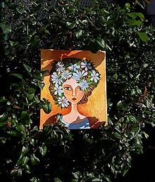 Obrazy - Nová jar, akryl, 25 x 30 cm - 12223792_