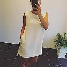 Šaty - šaty bez rukávov - 12223837_