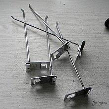 Iný materiál - Tenký jednoduchý háčik - 12226435_