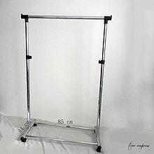 Iný materiál - Štender jednoduchý, chróm - 12226481_
