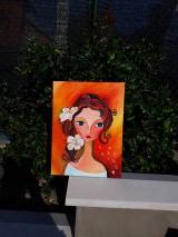 Obrazy - Obraz: Bella, akryl, 30 x 40 cm - 12225136_