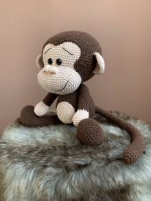 Hračky - opičiak MAX - hnedý - 12226002_