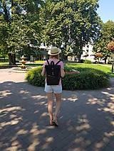 Batohy - Batoh Rolltop - Take me out (100% bavlnený kanvas + dubový korok) - 12225590_