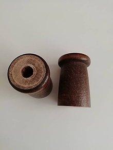 Pomôcky/Nástroje - Pomôcka - polotovar, cievka na pletenie dutiniek 1 pár - 12226635_