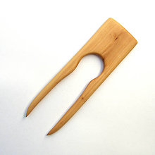 Ozdoby do vlasov - Drevená ihlica do vlasov - jabloňová - 12225786_
