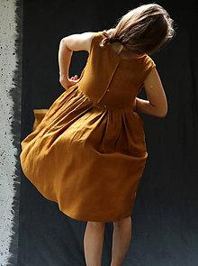 Šaty - šaty lněné - 12229778_