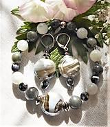 Sady šperkov - Unikátne kúsky - labradorid, mesačný kameň, teraherz - 12229465_