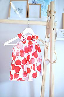 Detské oblečenie - Rozkvitnutá záhrada na šatôčkach - 12229329_