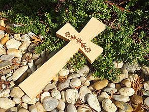 Dekorácie - Krížik 28. - 12228784_