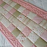 Úžitkový textil - Púdrové buchtičky tmavšie - 12227706_