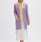 Svetre/Pulóvre - elegantný fialový sveter - 100% kašmír - 12229476_