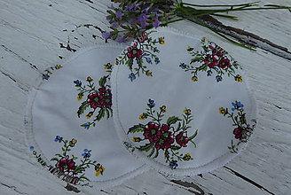 Úžitkový textil - dojčiace tampóny extra silné  s PUL 2 - 12229110_