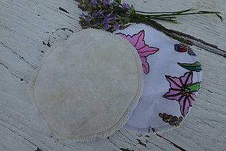 Úžitkový textil - dojčiace tampóny extra silné  s PUL 3 - 12229142_