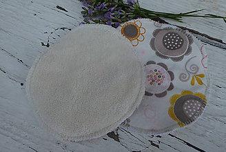 Úžitkový textil - dojčiace tampóny extra silné  s PUL 4 - 12229153_