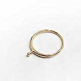 Prstene - Moderní prstýnek Liana GOLD - 12228448_