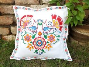 Úžitkový textil - Obliečka na vankúš srdce - 12229414_