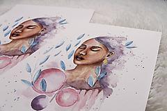 Obrazy - Art Print Zasnená - 12227941_