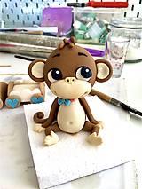 Dekorácie - Postavička Opička - 12230906_