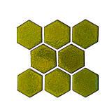 Dekorácie - Šesťuholníky - 12232645_