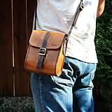 Pánska brašňa Antique leather messenger