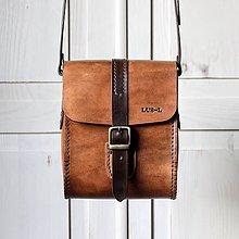 Kabelky - Unisex Antique leather messenger - 12232529_