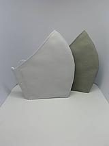 Rúška - Bavlnené rúška (Svetlé sivé) - 12230236_