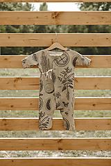 Detské oblečenie - Kimono overal - 12231348_