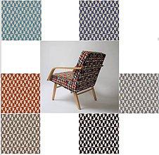 Nábytok - Kreslo farebné poťahy - 12231343_
