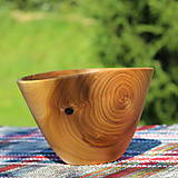 Nádoby - Miska z čerešňového dreva - 12231449_