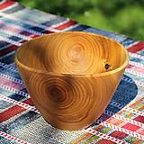 Nádoby - Miska z čerešňového dreva - 12231451_