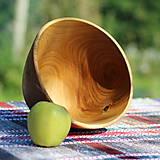 Nádoby - Miska z čerešňového dreva - 12231452_