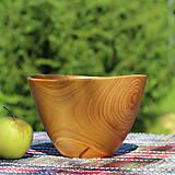 Nádoby - Miska z čerešňového dreva - 12231453_
