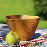 Nádoby - Miska z čerešňového dreva - 12231454_