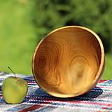 Nádoby - Miska z čerešňového dreva - 12231455_