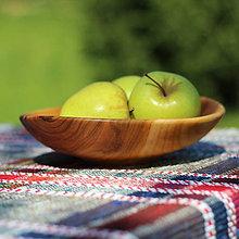 Nádoby - Miska z čerešňového dreva - 12231506_